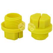 Пластиковая заглушка рулевой рейки (с резьбой) HDZ02112