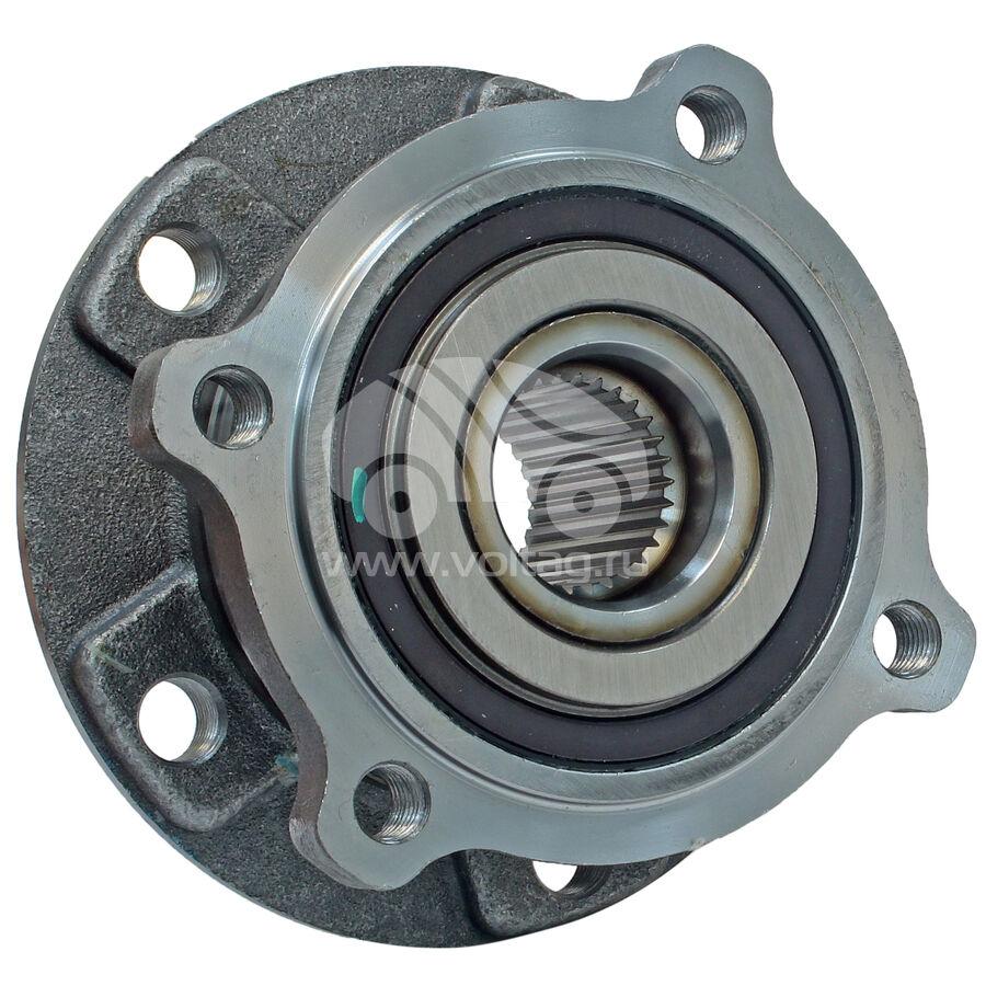 Ступица колеса с подшипником в сборе и монтажный комплектKRAUF WBK1062DU (31206795959)