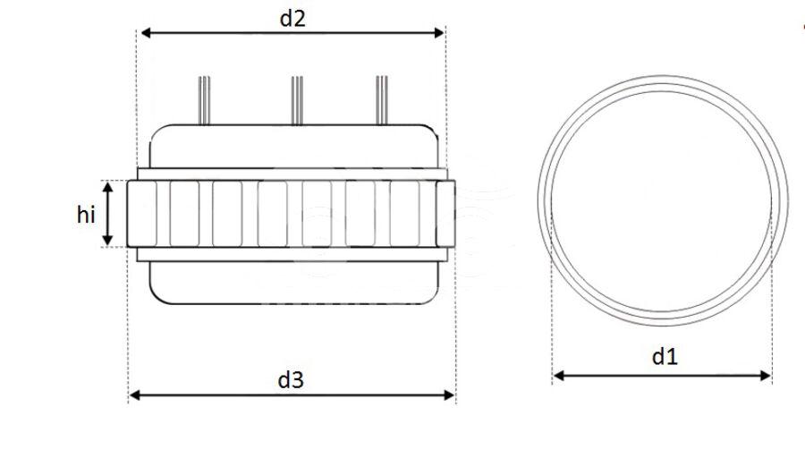 Статор генератора AFN0893