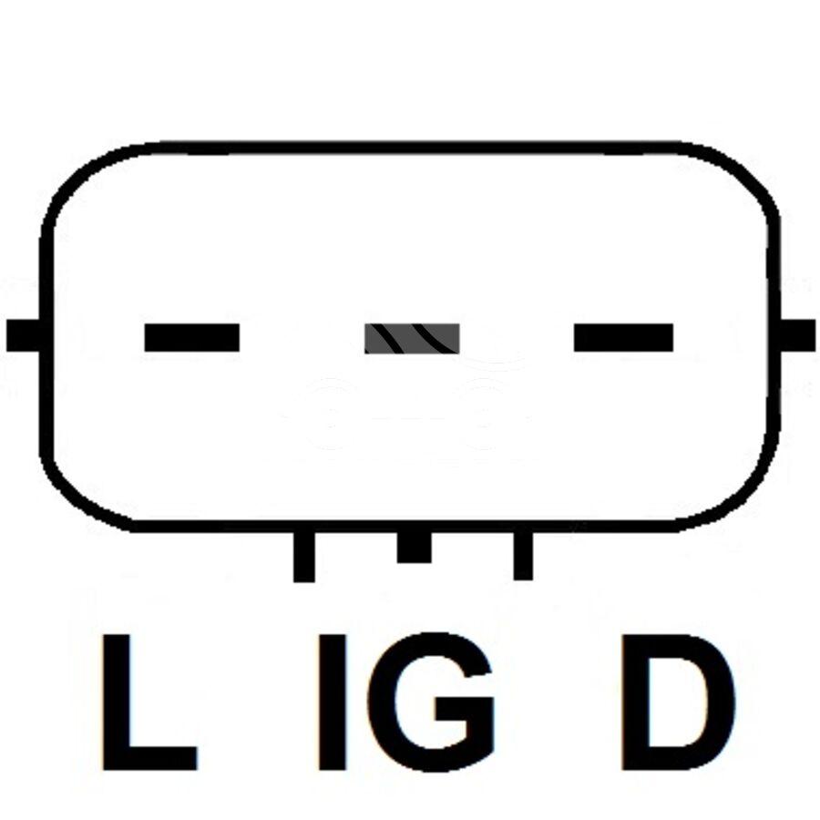Регулятор генератора под мост с допдиодамиKRAUF ARQ9385UT (ARQ9385UT)