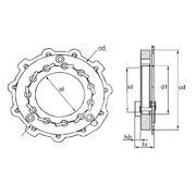 Геометрия турбокомпрессора MGT0008
