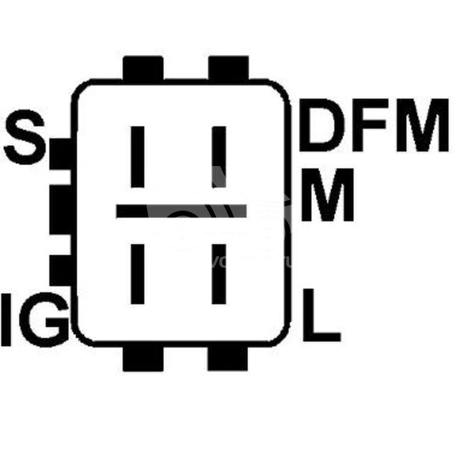 ГенераторKRAUF ALN1929RN (FT-D36313)