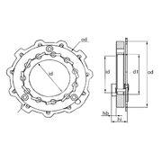 Геометрия турбокомпрессора MGT0005