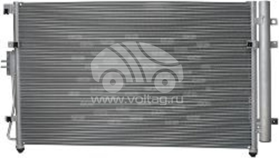 Радиатор кондиционера KRC0132