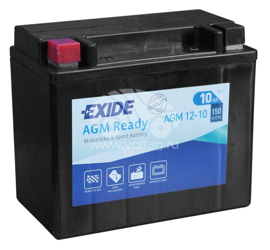 АккумуляторExide AGM1210 (150x87x130)