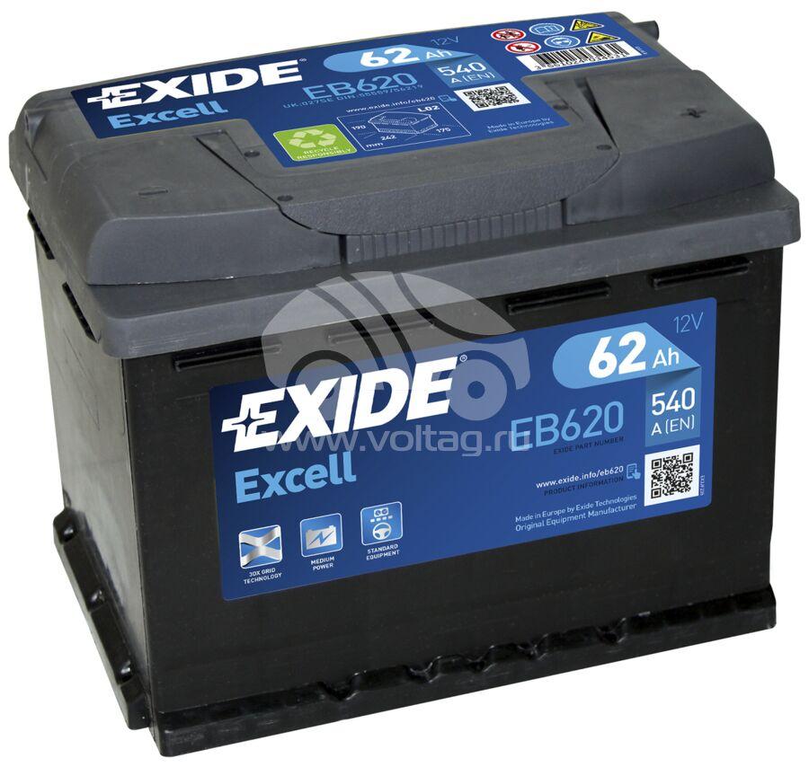 АккумуляторExide EB620 (ATE0620EX)