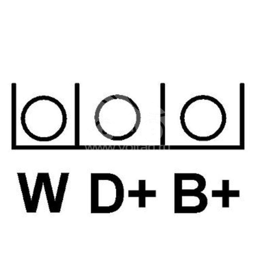 Генератор KRAUF ALE1085LP (LRB288)