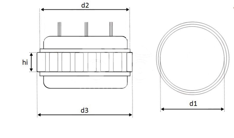 Статор генератора AFB8267