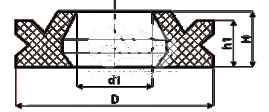 Сальник рулевой рейки HAZ1698