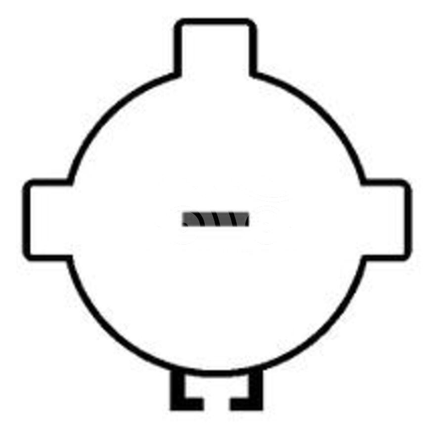 Компрессор кондиционера автомобиля KCF0305