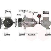Air conditioning compressor KCC0520