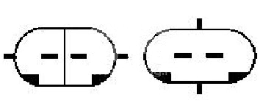 Компрессор кондиционера автомобиля KCD0372