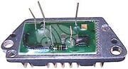 Чип реле-регулятора генератора AZN9219