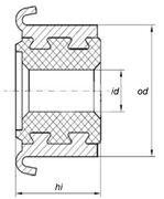 Коллектор моторчика печки KSS0011