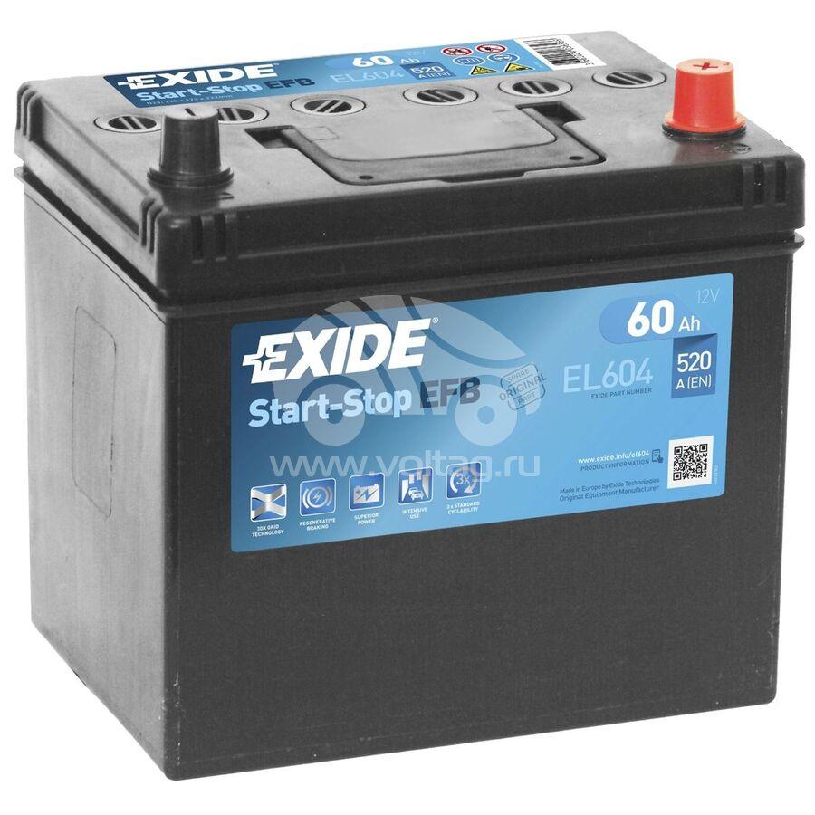 АккумуляторExide EL604 (ATJ0065XE)