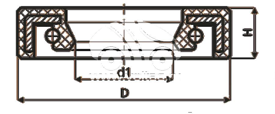 Сальник рулевой рейки HAZ1772