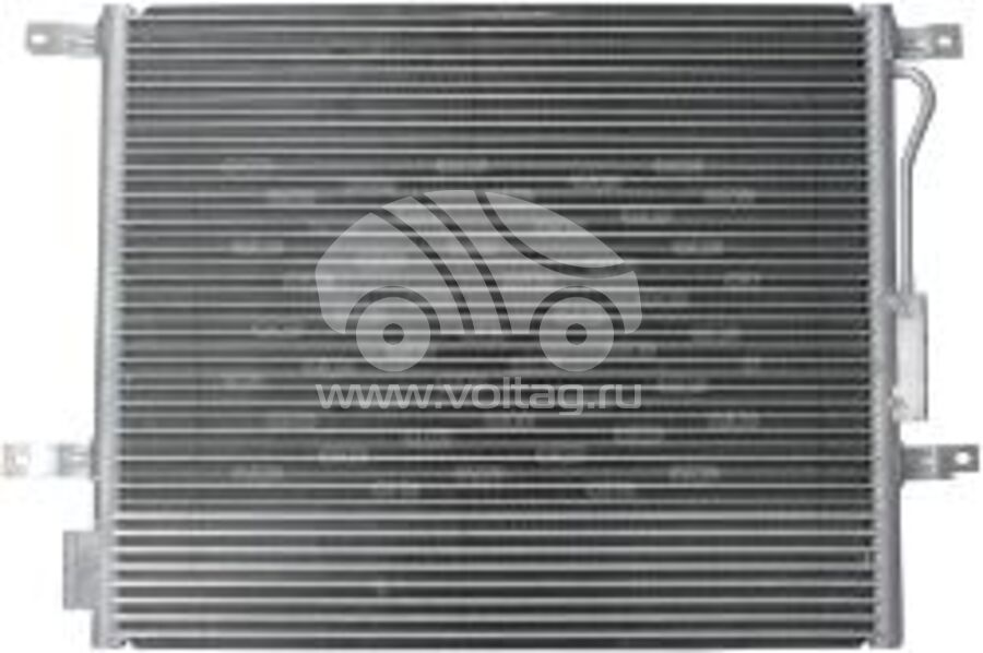 Радиатор кондиционера KRC0167