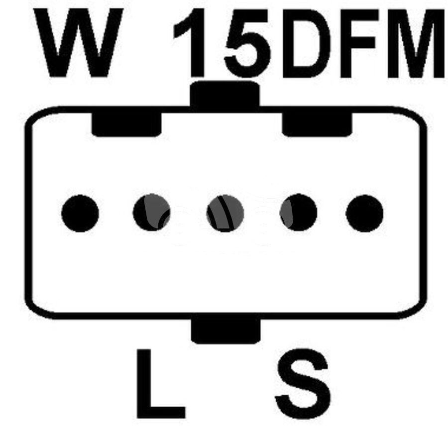 Генератор KRAUF ALM9430 (A9TU6499)
