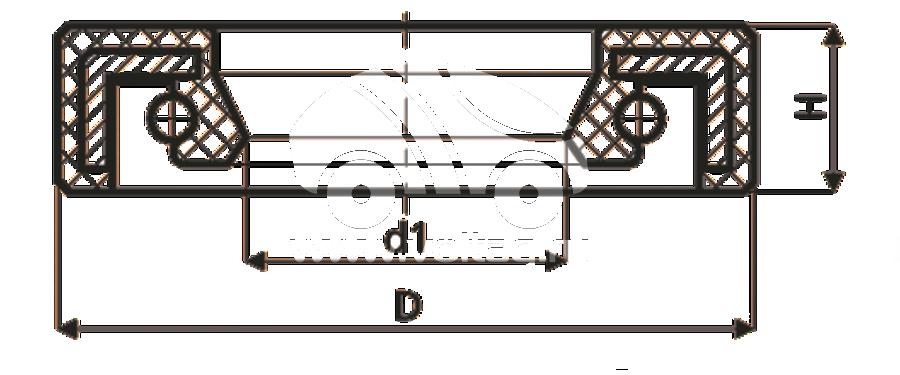 Сальник рулевой рейки HAZ0014