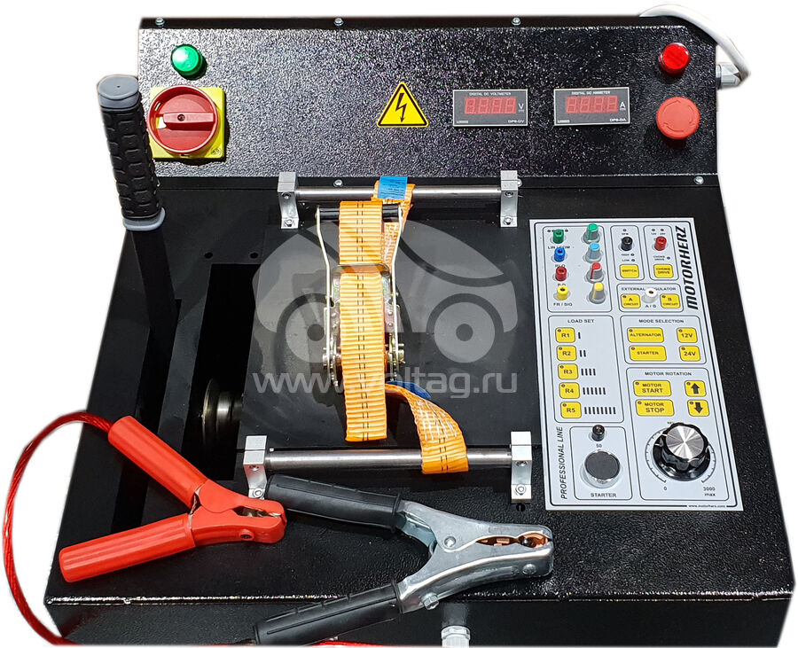 Стенд проверки генераторов и стартеров 380V Motorherz ME1B (Motorherz ME1B / 380V)