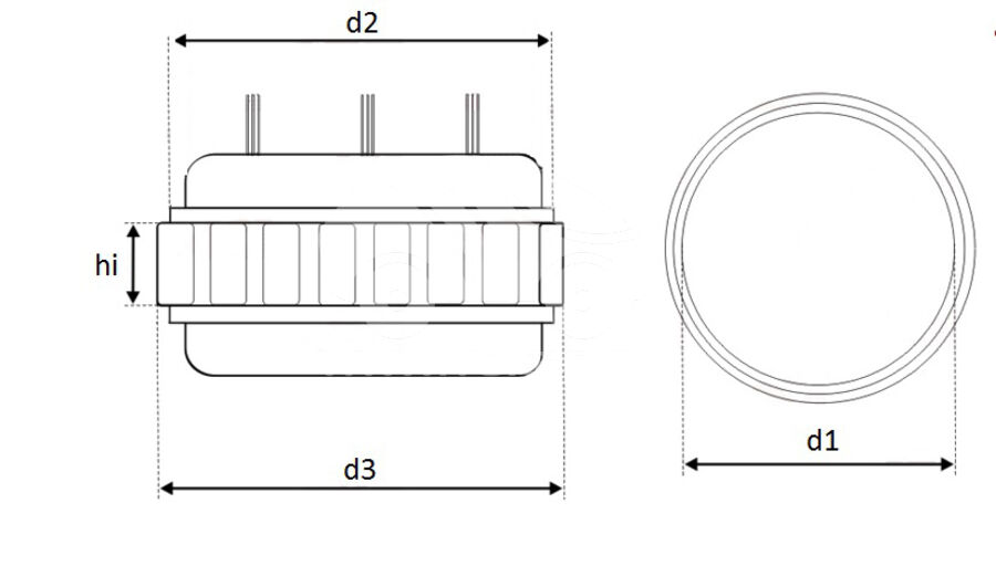 Статор генератора AFA7400