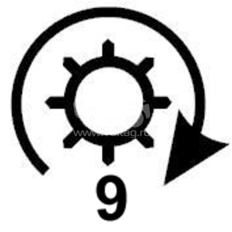 Бендикс стартера KRAUF SDD8885PN (SDD8885PN)