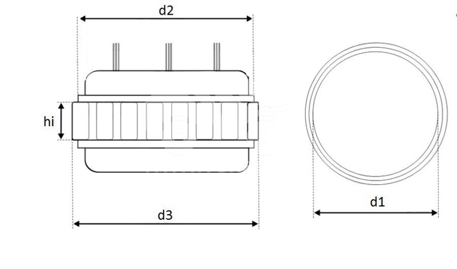 Статор генератора AFB0101