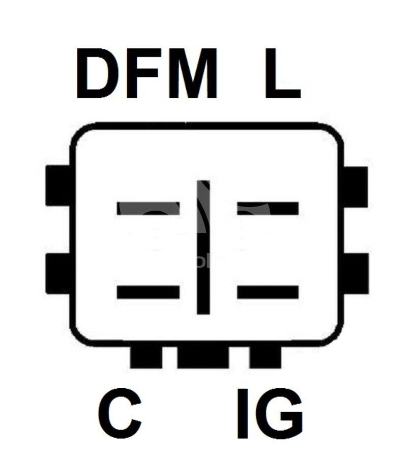 Регулятор генератора UTM RN6337A (RN6337A)