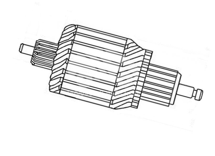 Ротор стартера SAN6120