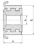 Коллектор моторчика печки KSS0010